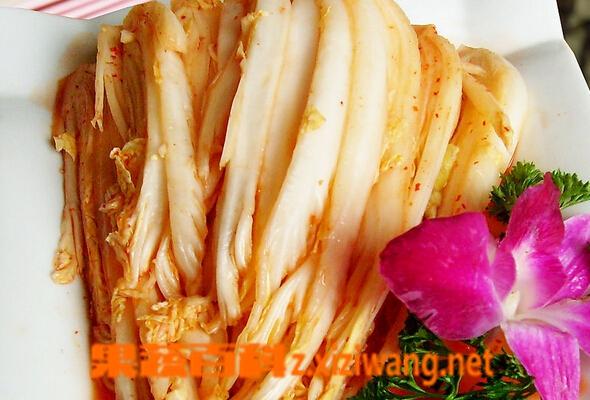 果蔬百科腌制白菜